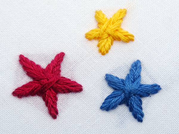 Star Stitch Embroidery Tutorial - Wandering Threads Embroidery